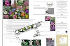 Cottage garden plan